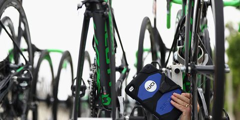 Scanning for Hidden Bike Motor
