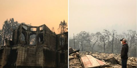 Levi Leipheimer's house destroyed by California wildfires