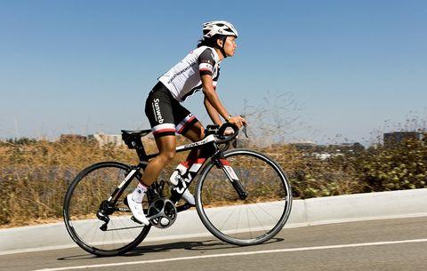 Coryn Rivera, America's winningest current professional cyclist