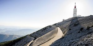 biking mount ventoux
