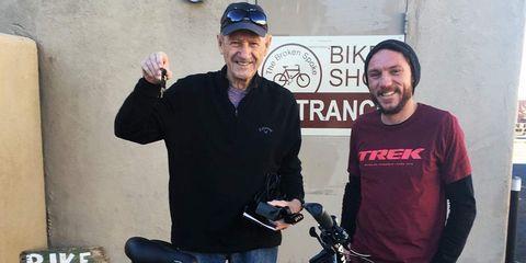 Gene Hackman E-Bike