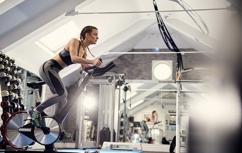 Try This Metabolism-Boosting Flywheel Workout With Any Indoor Bike