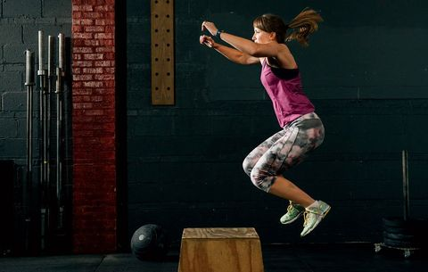 Want Explosive Cycling Power? Try the Box Jump