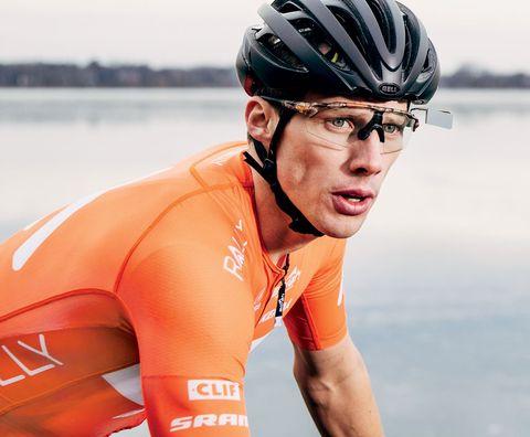cycling helmet mirror