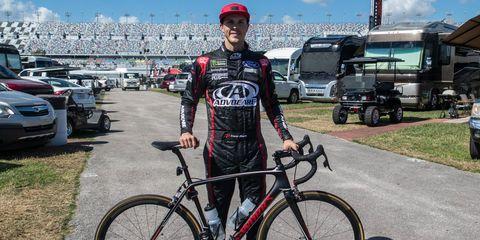 Trevor Bayne Cycling