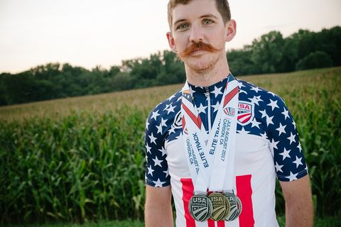 From Gravel Racer to National Track Champion in One Year: The Amazing, Unlikely Story of Ashton Lambie