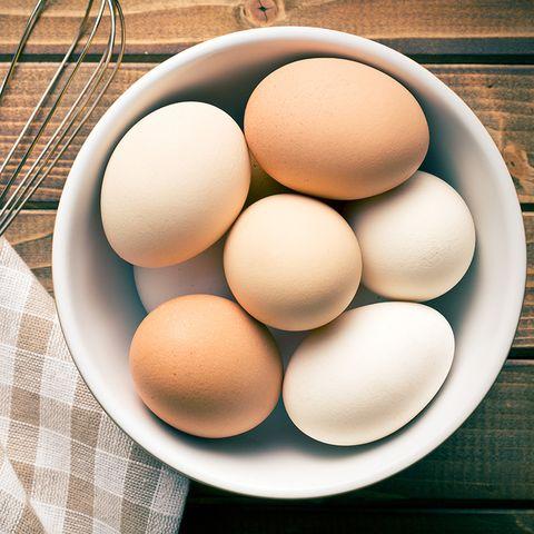 Ingredient, Food, Egg, Egg, Plaid, Peach, Tan, Tartan, Serveware, Still life photography,