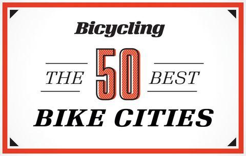 The 50 Best Bike Cities of 2016.