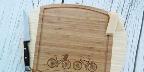Bike Cutting Board