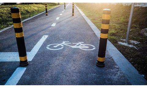 Bike Lane Bollard