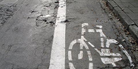 Bike Lane Potholes
