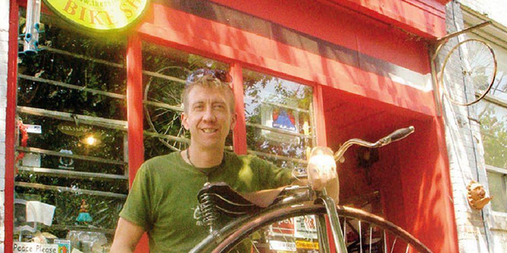 Matthew Feiner bicycle mechanic