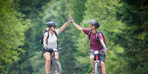 Image result for mountain biking health