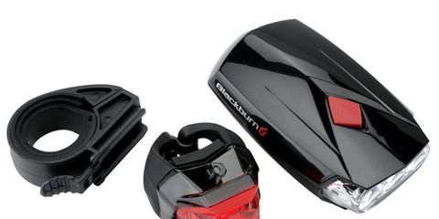 blackburn voyager 2.0 led headlight and mars click tail light