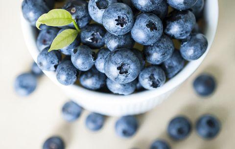 antioxidantes de mirtilos