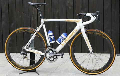 Tom Boonen's Specialized Roubaix