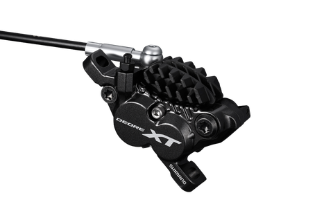 First Look: Shimano Deore XT Four-Piston Brake Caliper and E