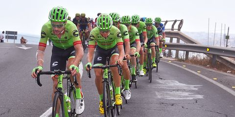 The Cannondale-Drapac pro cycling team
