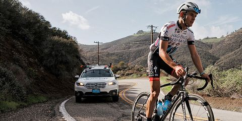 Chad Young's Family Starts Foundation to Fight Concussions for Cyclists and Champion Young Rider Development.