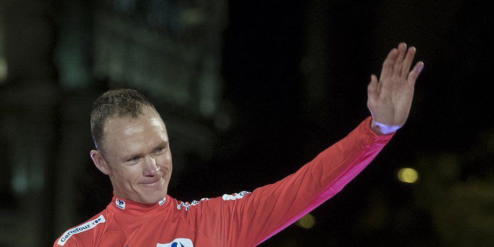 Chris Froome 2017 Vuelta a Espana