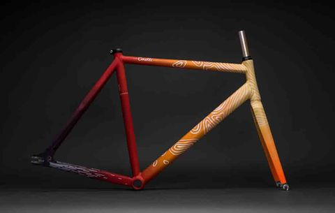 eric otto custom cinelli bike frame