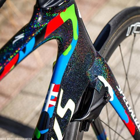 These Specialized Bikes Have Drool Worthy Custom Paint