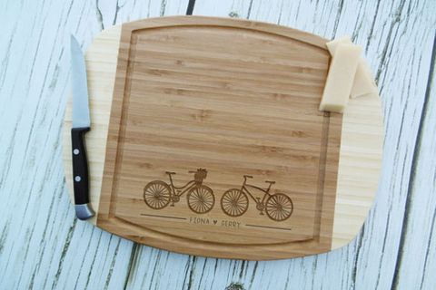 Bike Love Cutting Board