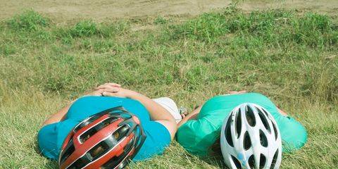 Napping Cyclists