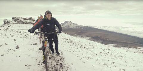 Danny MacAskill Bikes Mount Kilimanjaro