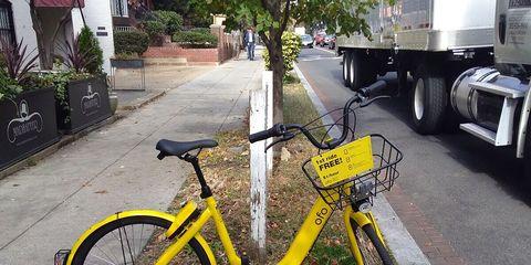 Dockless Bike Share Washington, D.C.