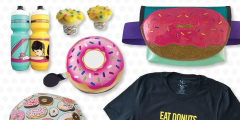 Donut Themed Cycling Stuff!
