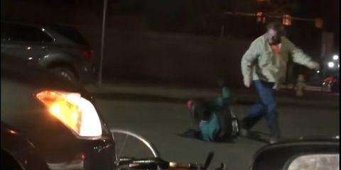 Driver Assaults Cyclist