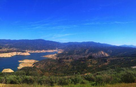 castaic lake view
