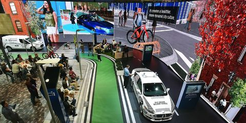 Ford Bicycle-to-Vehicle Demo