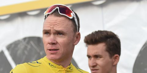Chris Froome Facing Suspension