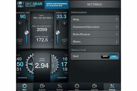 gear ratio calculator app for cyclists