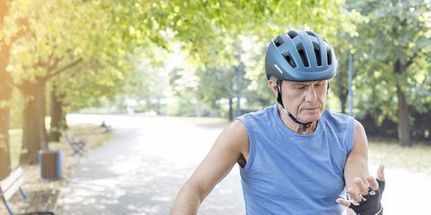Cyclist germs