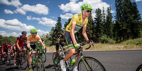 Pro climbing at Tour of Utah