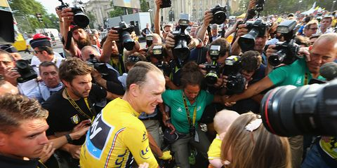 Chris Froome Cycling Tour