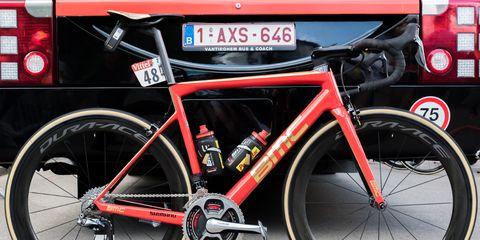 Greg Van Avermaet's Gold Accented BMC SLR01