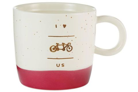 """I Love Us"" Bike Mug"
