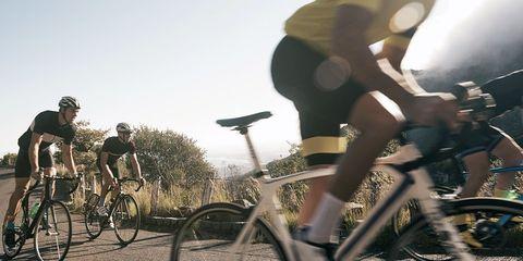 bicyclists training