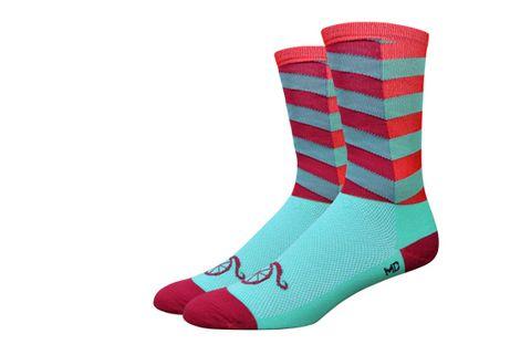 Handlebar Mustache Socks