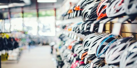 Shopping for a helmet