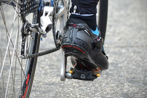 Cycling Shoe Cleat Position