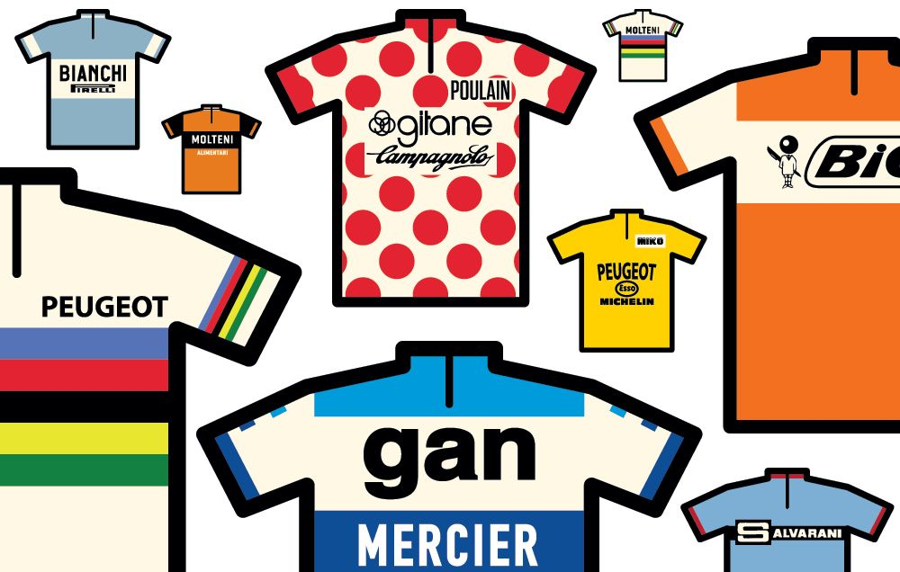 7b4381951 The Stories Behind 8 Iconic Cycling Jerseys