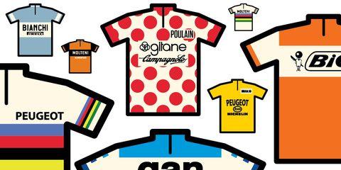 Iconic Cycling Jerseys