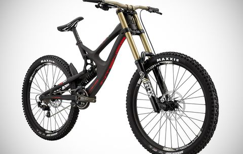 950db717cf0 ... downhill frame that's designed for everything from World Cup  podium-chasing to bike park shredding. Intense uses virtual pivot point  suspension ...