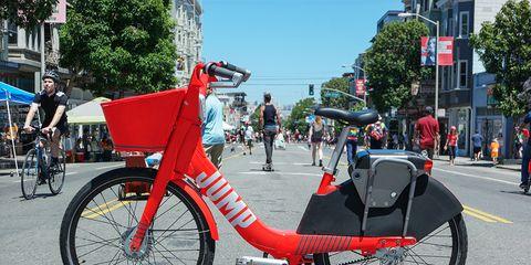 Jumpe Dockless Bike Share E-Bike