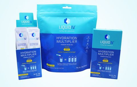 Liquid I.V. Delivers Fluids Fast When You Need to Hydrate